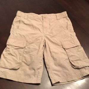 Boys The North Face Shorts Size Large. Adjustable